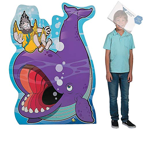 Bargain World Jonah & the Whale Stand-Up (With Sticky Notes)