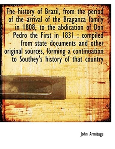 Foorumin lataaminen The history of Brazil, from the period of the arrival of the Braganza family in 1808, to the abdication of Don Pedro the First in 1831: compiled from ... to Southey's history of that country PDF iBook PDB 1140228641