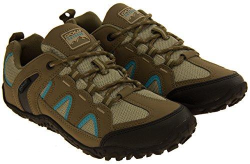Mujer Gola Rugged Senderismo, Caminar, Trekking Zapatos Taupe