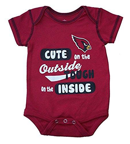 買得 Arizona B06XS2PBYH CardinalsキュートTough外側内側Infant Arizona Onesie 18ヶ月ボディースーツサイズ – レッド レッド B06XS2PBYH, GRANDE:276efd80 --- a0267596.xsph.ru