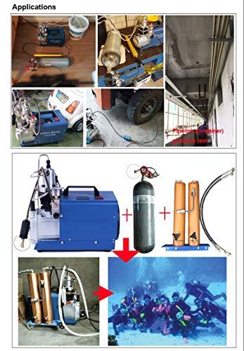 30Mpa High Pressure Air Filter External Water-Oil Separator