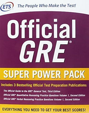 Official GRE Super Power Pack 2/E (Test Prep) (Gre Quantitative Practice)