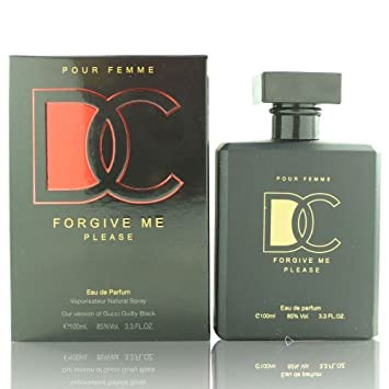 b83e8b1fb Amazon.com : Forgive Me Please Guilty Black Women Perfume 3.3 oz Eau de  Parfum (Imitation) : Eau De Parfums : Beauty