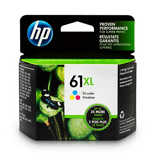 HP 61XL Ink Cartridge Tri-color (CH564WN) for