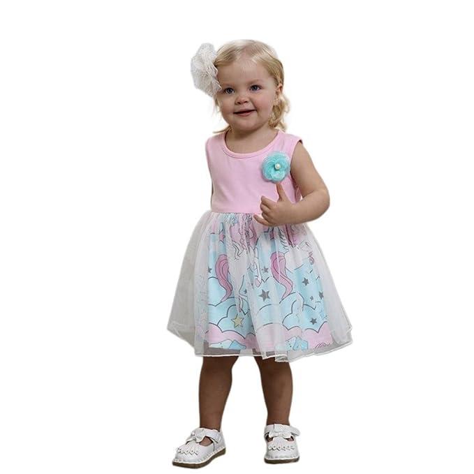 Amazon Com Amanod 2018 Popular Hot Sale Toddler Baby Girls Dress