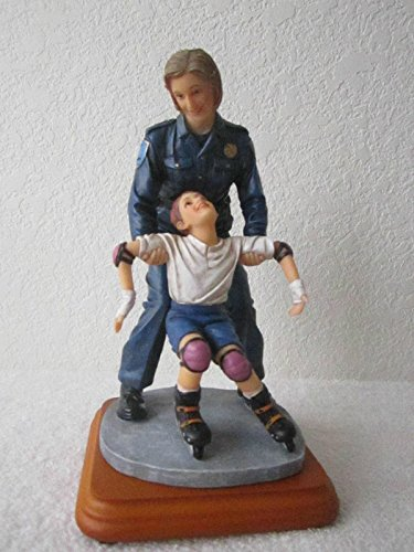 """Blue Hats of Bravery """"Taking Time Out"""" Figurine"""