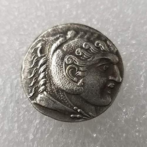 OppoLing Ancient Old Greek Coin Commemorative Coins - Collectible Uncirculated Coin - Greek Mythology - Greek Goddess - Uncirculated/Collectable Condition Best Product