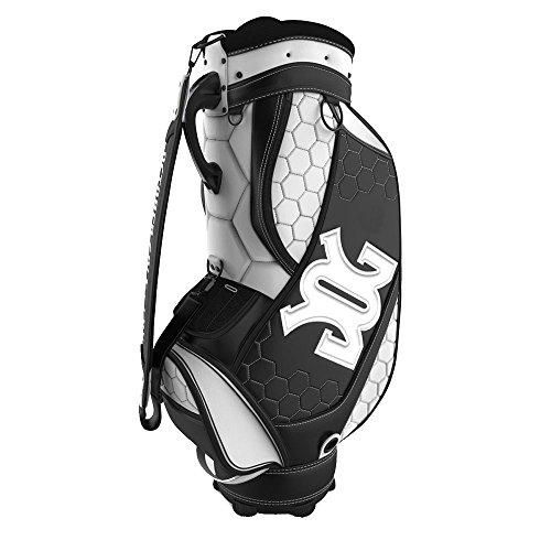 盲目不測の事態蒸留10月ゴルフギアハブスタッフバッグW / No添付ファイル2017ブラック/ホワイト