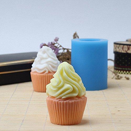 Amazon.com: 3d helado con forma de molde para vela – moldfun ...