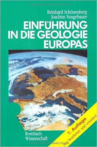 Book Einführung in die Geologie Europas