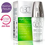 Cheap Anti Aging Serum Age Defense by 180 Cosmetics – Innovative Skin Care Wrinkle Eraser for Lifting & Tightening – Remove Wrinkles & Fine Lines – Hyaluronic Acid – Hemp Seed Oil – Jojoba Oil – Vitamin C E
