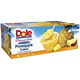 Dole Tropical Gold Premium Pineapple Tidbits, 16 pk./4 oz. (pack of 6)
