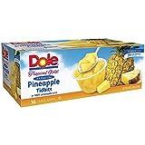 Dole Tropical Gold Premium Pineapple Tidbits, 16 pk./4 oz. (pack of 2)