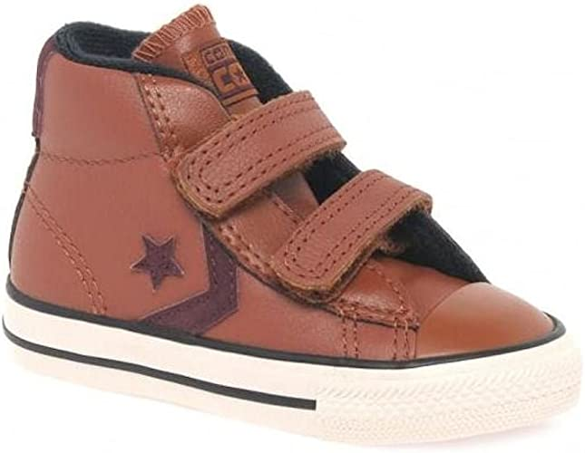 Converse Boys All Star Leather Ankle