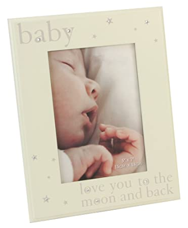 Amazoncom Babys Love You To The Moon And Back Picture Frame