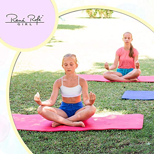 10 Pack Rene Rofe Girls Cotton Spandex Cami Crop Training Bra with Adjustable Straps
