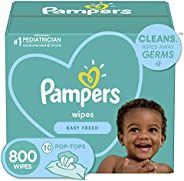 Baby Wipes, Pampers Baby Diaper Wipes, Hypoallergenic and Unscented