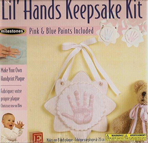 Handprint Plaque (Lil' Hands Keepsake Kit: Make Your Own Handprint Plaque by Milestones)