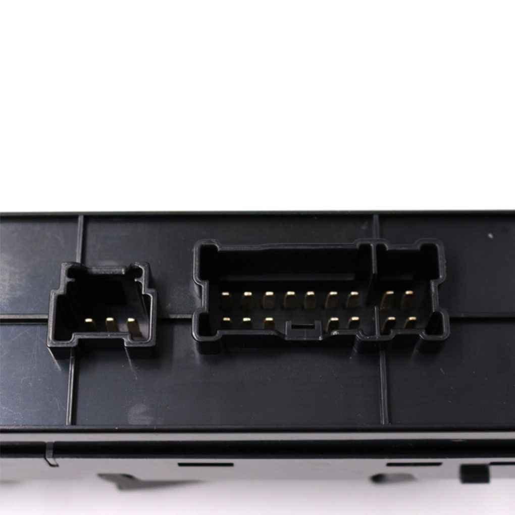 Elenxs Para Tiida LHD 2011-2014 Frontal del Conductor Lado Izquierdo del Interruptor el/éctrico Ventana de Coche Bot/ón Maestro 25401-3DF0B