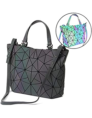 HotOne - Bolso de Asas para Mujer Luminous Large+Wallet Set Large