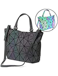HotOne Geometric Luminous Purses and Handbags Shard...