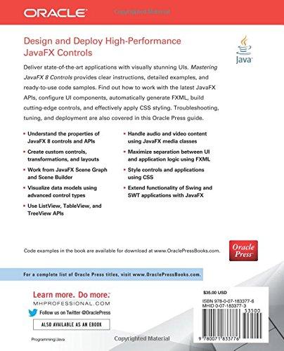 Mastering JavaFX 8 Controls: Hendrik Ebbers: Amazon com mx: Libros