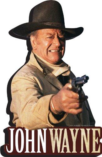 Aquarius John Wayne Shoot Funky Chunky Magnet