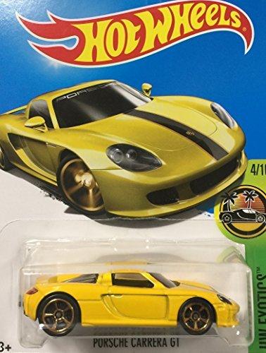 日本インポートホットWheels Hot Wheels Porsche Carrera Gt Porsche Carrera Gt Yellow # 74 B07D8TVNRJ