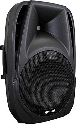 """Gemini ES-15BLU 15"""" Bluetooth Speaker,"""