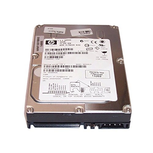 (HP 364326-001 300GB 10K ULTRA-320 SCSI 68PIN NON HOT PLUG DRIVE )