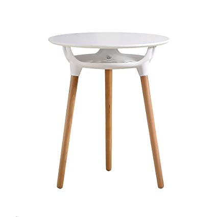 Amazoncom Zoyo Side Table White Table Round Side Table Moden