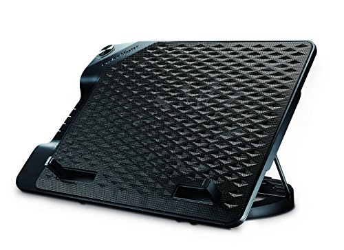Cooler Master NotePal ErgoStand III - Premium Ergonomic Laptop Cooling Stand with Large 230mm Silent Fan, 4-Port USB Hub, and 6 Height Settings