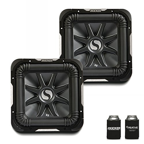 "Kicker 11S12L72 Bundle - Two Solobaric L7 12"" Dual 2-Ohm Subwoofers"