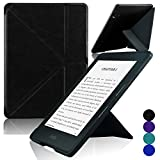 ACdream Kindle Voyage [Origami] Case, Ultra Slim Premium PU Leather Cover Case for Kindle Voyage 2014 Version with Auto Wake Sleep Feature, Black