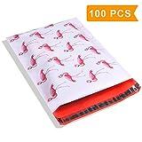 Pink Flamingo Polymailers