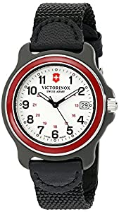 Victorinox Men's 249088 Original Analog Display Swiss Quartz Black Watch