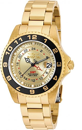 Invicta 18252 Pro Diver Gold-Tone Stainless Steel Watch
