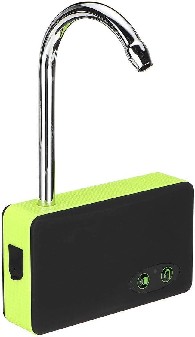 Yongenee Pesca oxígeno eléctrica sumergible Bomba automática de la bomba del filtro de agua de la bomba inalámbrico Noche iluminación con soporte for colgar 3 en 1 USB portátil recargable for Piscinas