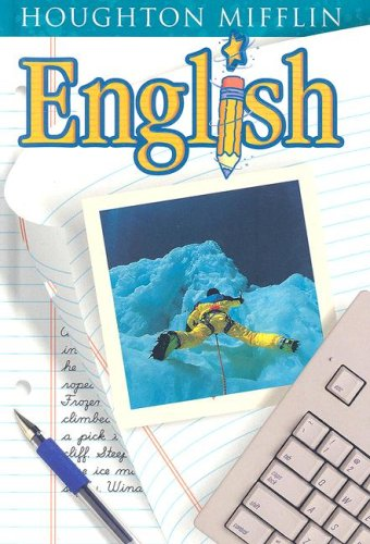 Houghton Mifflin English: Student Edition Hardcover Level  8 2001