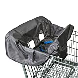 Babies R Us Shopping Cart & High Chair Cover - Grey