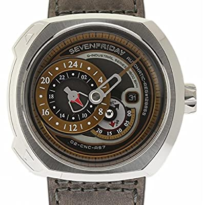 Sevenfriday Q Series Swiss-Automatic Male Watch Q2-01 (Certified Pre-Owned) from Sevenfriday