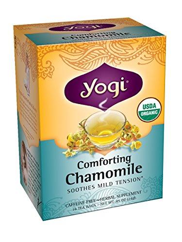 Йоги Утешительный ромашки чай, 16 пакетиков (Pack 6)