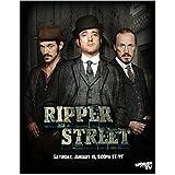 #8: Adam Rothenberg as Cpt Homer Jackson Matthew Macfadyen as Det. Insp. Edmund Reid and Jerome Flynn as Det Sgt Bennet Drake in Ripper Street 8 x 10 Inch Photo