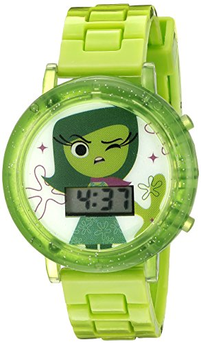 Disney Kids' INS3019 Digital Display Quartz Green Watch