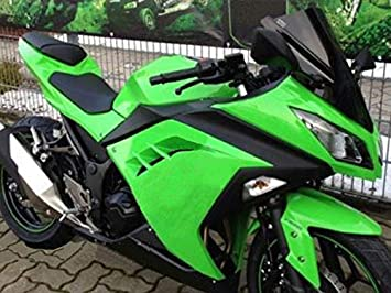 Amazon.com: Moto Onfire Green Black Fairings Body Kits For ...