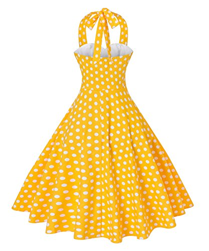Buy vintage halter dress plus size