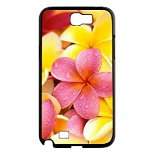 Red Hawaii Flower Brand New Cover Case for Samsung Galaxy Note 2 N7100,diy case cover ygtg606070 WANGJING JINDA