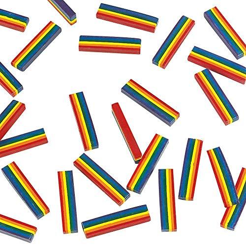 (Oriental Trading Company 25 Rainbow Design Crayons)
