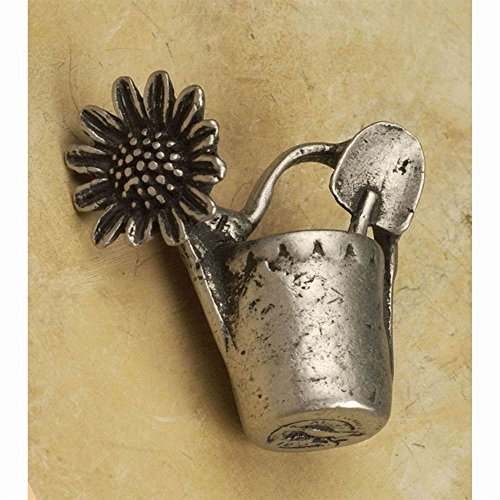 (Watering can sm.-LFT knob (Set of 10) (Pewter with Copper))