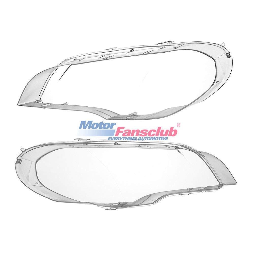 Headlight Lens Cover for X5 E70 2007-2012 4-Door Left Right Side
